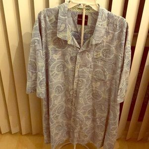 Tommy Bahama button down 4XL